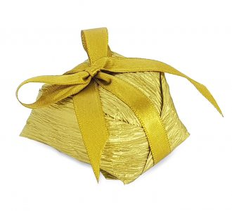 Bem Casado Papel Dourado e Laço N2 cod7