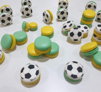 Macarons Personalizados Futebol